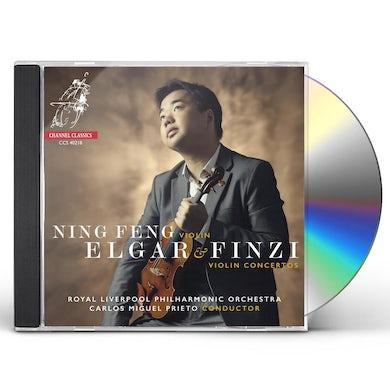 Ning Feng Elgar & Finzi: Violin Concertos CD