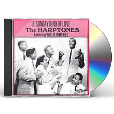 Harptones SUNDAY KIND OF LOVE / BEST OF CD