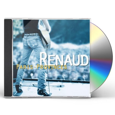 Renaud PARIS PROVINCES ALLER: RETOUR CD