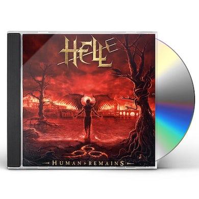 Hell HUMAN REMAINS CD