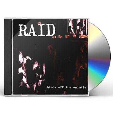 Raid HANDS OFF THE ANIMALS CD