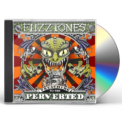 The Fuzztones PREACHING TO THE PERVERTED CD