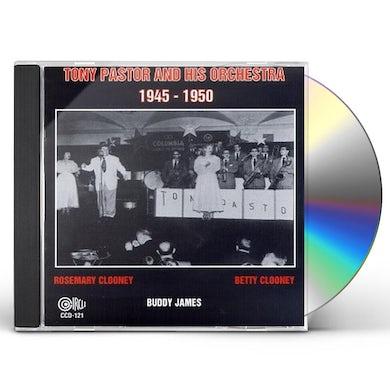 Tony Pastor 1945 & 1950 CD