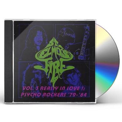 St. Elmo's Fire REALLY IN LOVE!: PSYCHO ROCKERS 1979-84 3 CD