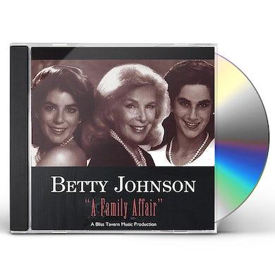 Betty Johnson FAMILY AFFAIR CD
