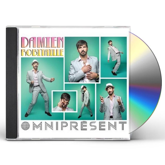 Damien Robitaille OMNIPRESENT CD