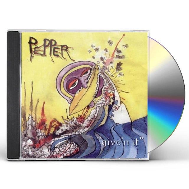 Pepper GIVE'N IT CD