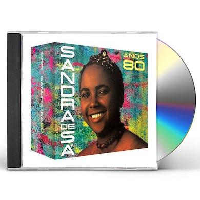 Sandra de Sa ANOS 80 CD