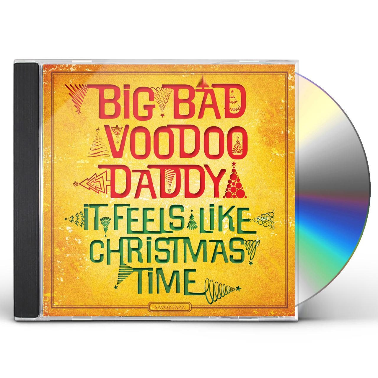 Big Bad Voodoo Daddy It Feels Like Christmas Time Cd