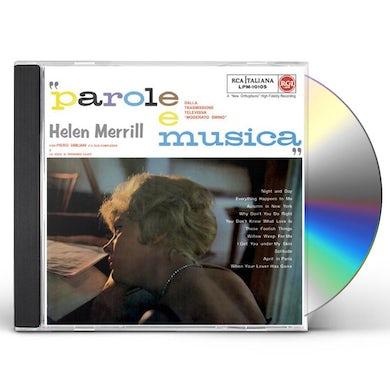 Hellen Merrill PAROLE E MUSICA CD