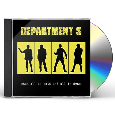 Department S WHEN ALL IS SAID AND ALL IS DONE CD