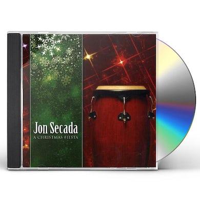 Jon Secada CHRISTMAS FIESTA CD