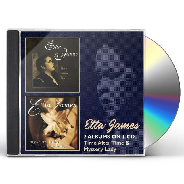 Etta James TIME AFTER TIME / MYSTERY LADY CD