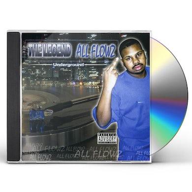 DJ Screw LEGEND ALLFLOWZ CD