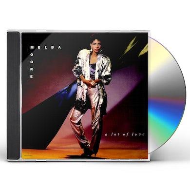 Melba Moore A LOT OF LOVE CD