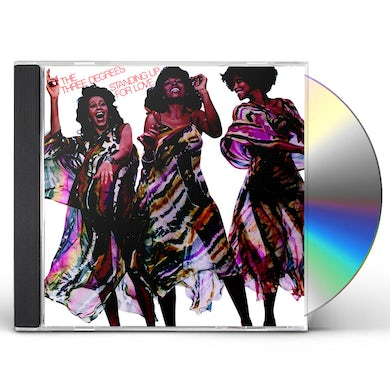 Three Degrees STANDING UP FOR LOVE CD