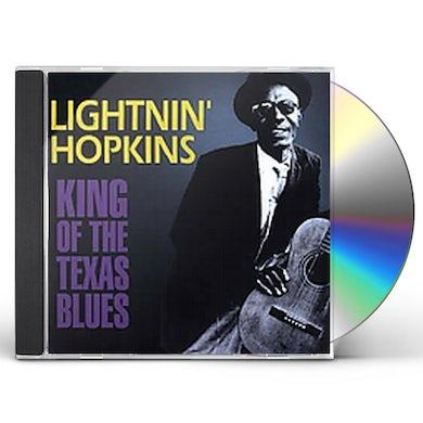 Lightnin Hopkins KING OF THE TEXAS BLUES CD