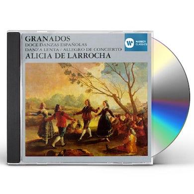 Alicia de Larrocha GRANADOS CD