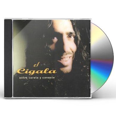 Diego El Cigala ENTRE VARETA Y CANASTA CD