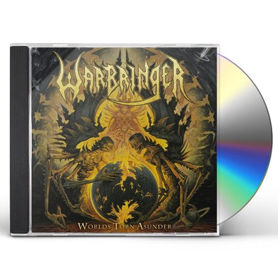Warbringer WORLDS TORN ASUNDER CD