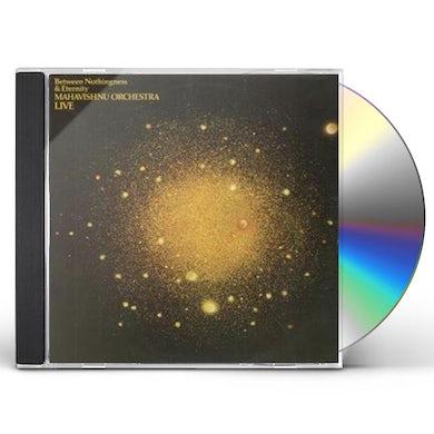 Mahavishnu Orchestra LIVE BETWEEN NOTHINGNESS & ETERNITY CD