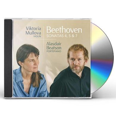 Beethoven: Sonatas 4 5 & 7 CD