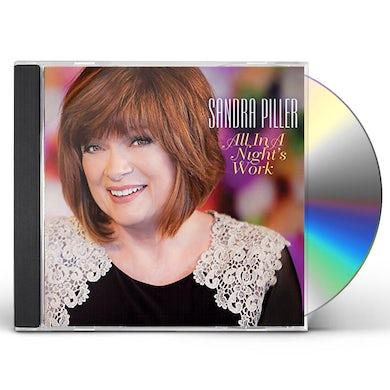 Sandra Piller ALL IN A NIGHT'S WORK CD
