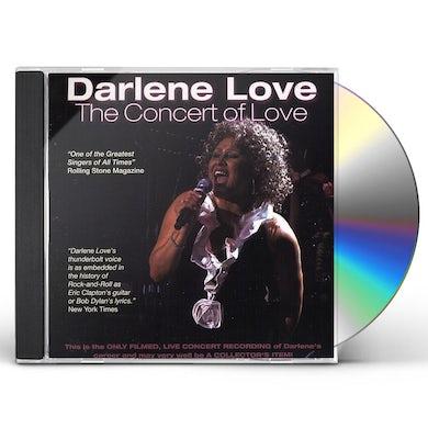 Darlene Love CONCERT OF LOVE CD