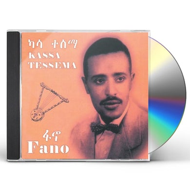 Kassa Tessema FANO (ETHIOPIAN CONTEMPORARY OLDIES MUSIC CD