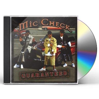 Mic Check GUARANTEED CD