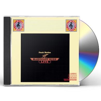 FRANK MARINO & MAHOGANY RUSH - LIVE CD