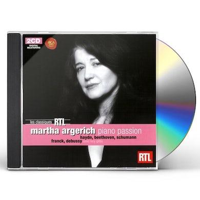 MARTHA ARGERICH: PIANO PASSION CD