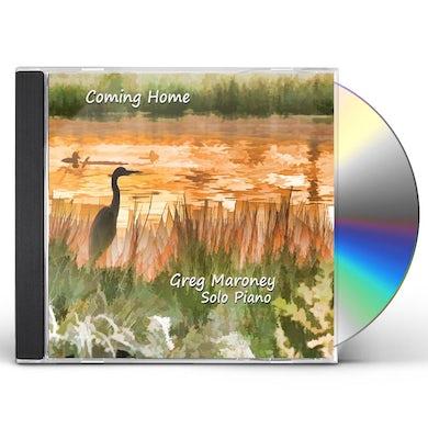 Greg Maroney COMING HOME SOLO PIANO CD