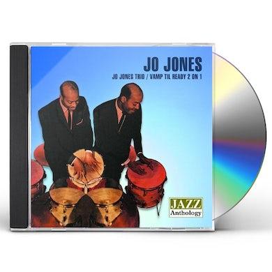 JO JONES TRIO / VAMP TIL READY 2 ON 1 CD