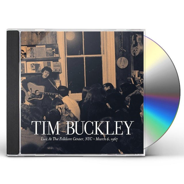 Tim Buckley LIVE AT THE FOLKLORE CENTER NYC MARCH 6 1967 CD