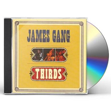 James Gang THIRDS CD