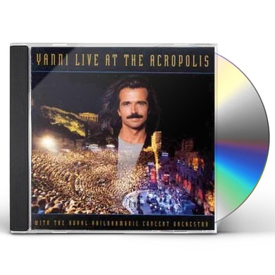 Yanni LIVE AT THE ACROPOLIS CD