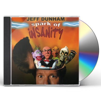 Jeff Dunham SPARK OF INSANITY CD