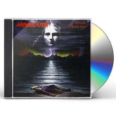 Annihilator NEVER NEVERLAND CD