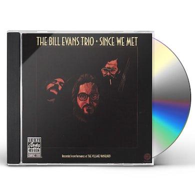 Bill Evans Trio SINCE WE MET CD