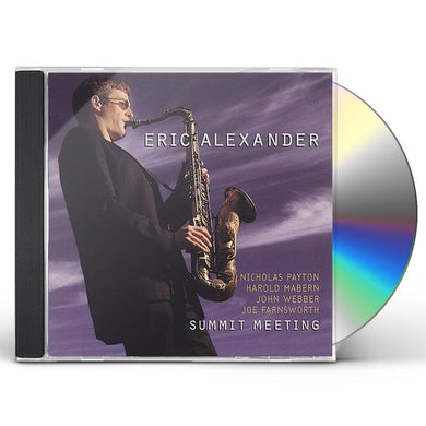 Eric Alexander SUMMIT MEETING CD