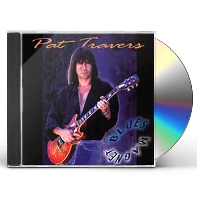 Pat Travers BLUES MAGNET CD
