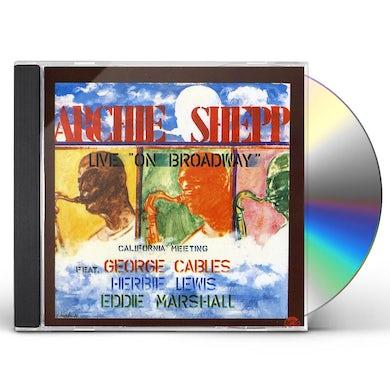 Archie Shepp CALIFORNIA MEETING-LIVE CD