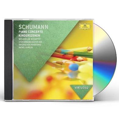 Wilhelm Kempff VIRTUOSO-SCHUMANN: PIANO CONCERTO CD