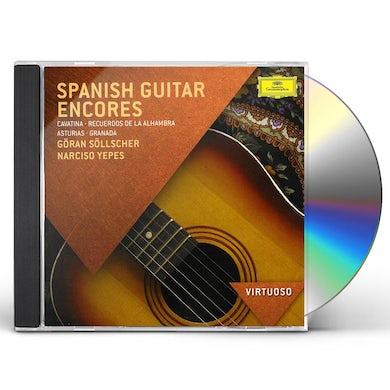 VIRTUOSO-SPANISH GUITAR ENCORES CD