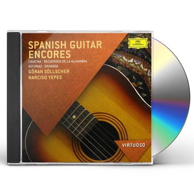 Narciso Yepes VIRTUOSO-SPANISH GUITAR ENCORES CD