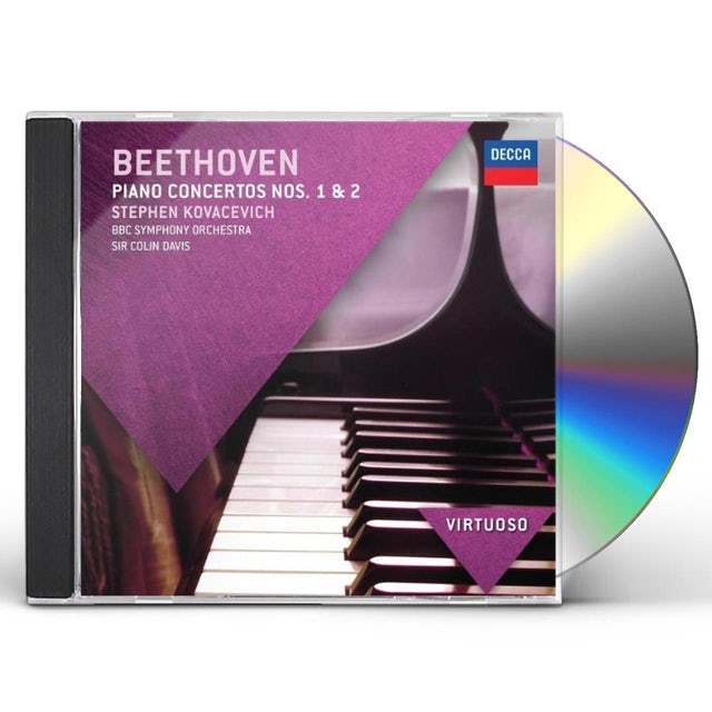 L.V. Beethoven PIANO CONCERTOS 1 & 2 CD