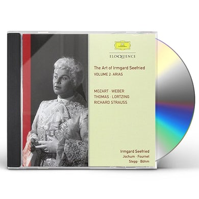 IRMGARD SEEFRIED-VOL. 2: OPERA ARIAS CD