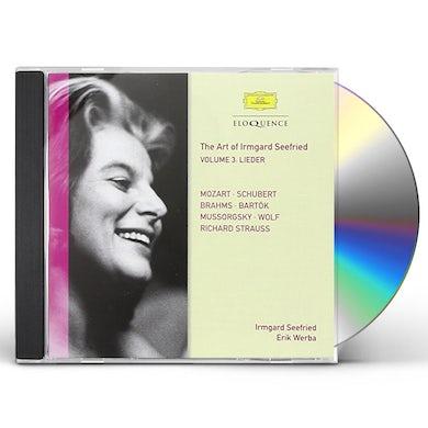 IRMGARD SEEFRIED-VOL 3: MOZART & LIVE RECORDINGS CD