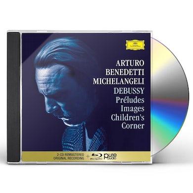 Debussy: Preludes I & II, Images I & II, Children's Corner (2 CD / Blu-ray) CD